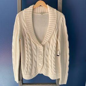 St. John's Bay Button Down Cardigan Sweater